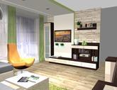 Grafický návrh obývačky - obr.7