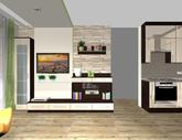 Grafický návrh obývačky - obr.8