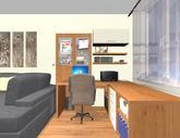 Grafický návrh obývačky v paneláku - verzia 1 - obr.6