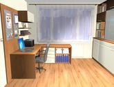 Grafický návrh obývačky v paneláku - verzia 1 - obr.7