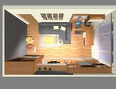 Grafický návrh obývačky v paneláku - verzia 1 - obr.10