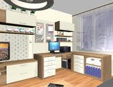 Grafický návrh obývačky v paneláku - verzia 2 - obr.5