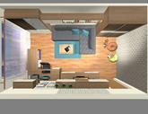 Grafický návrh obývačky v paneláku - verzia 2 - obr.13