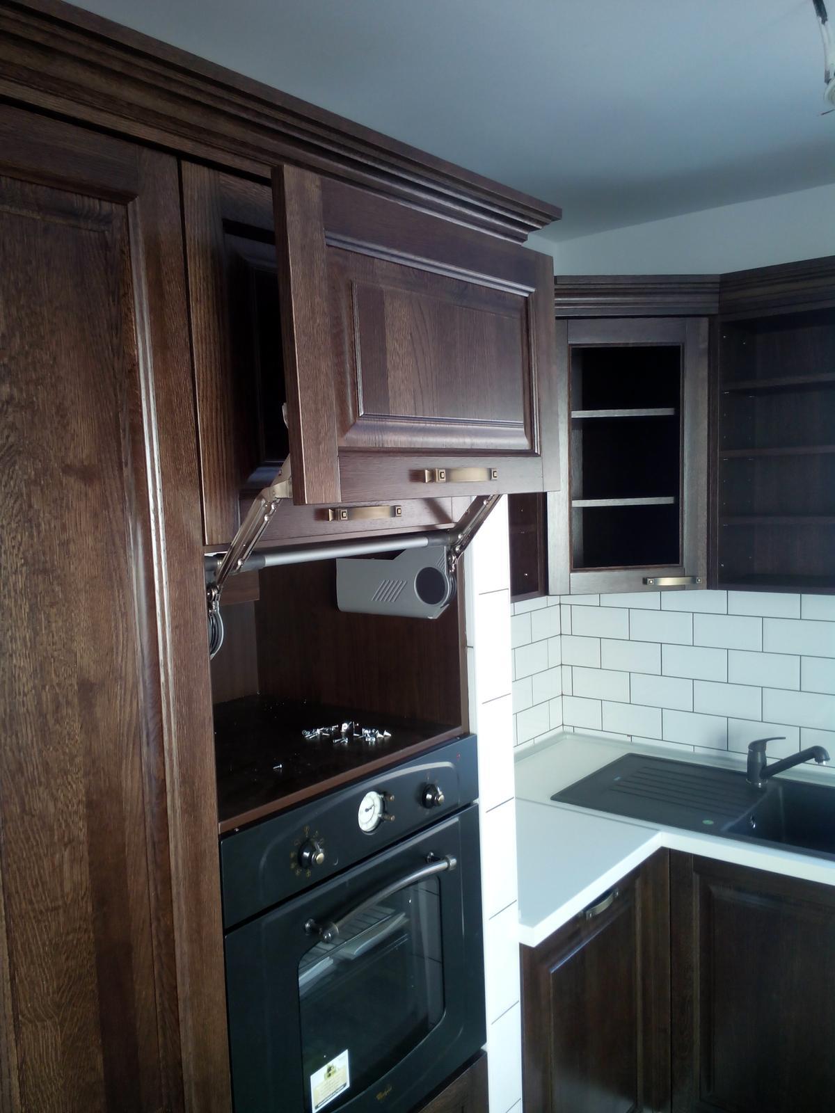 Realizácie kuchyne - Marek Herko-stolárstvo - Murovaná kuchynská linka do rodinného domu