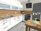 Grafický návrh kuchynskej linky do paneláku - verzia 2-obr.1