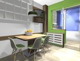 Grafický návrh kuchynskej linky do paneláku v BB - verzia 2- obr.8
