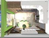 Grafický návrh kuchynskej linky do paneláku v BB - verzia 2- obr.13