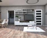 Grafický návrh obývačky v paneláku - obr.2