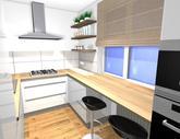Návrh kuchynskej linky do paneláku v ZV - obr.5