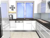 Grafický návrh kuchyne do rodinného domu - obr.6