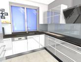 Grafický návrh kuchyne do rodinného domu - obr.7