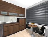Grafický návrh kuchynskej linky do paneláku -obr.4
