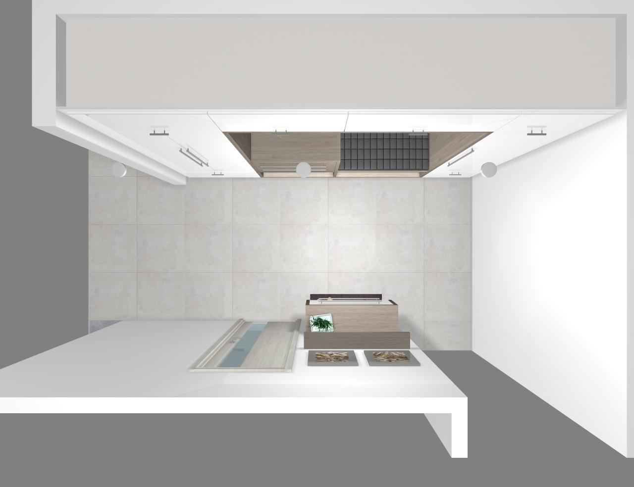 Grafické návrhy interiér 2019 - Grafický návrh vstupnej chodby v rodinnom dome - obr.8