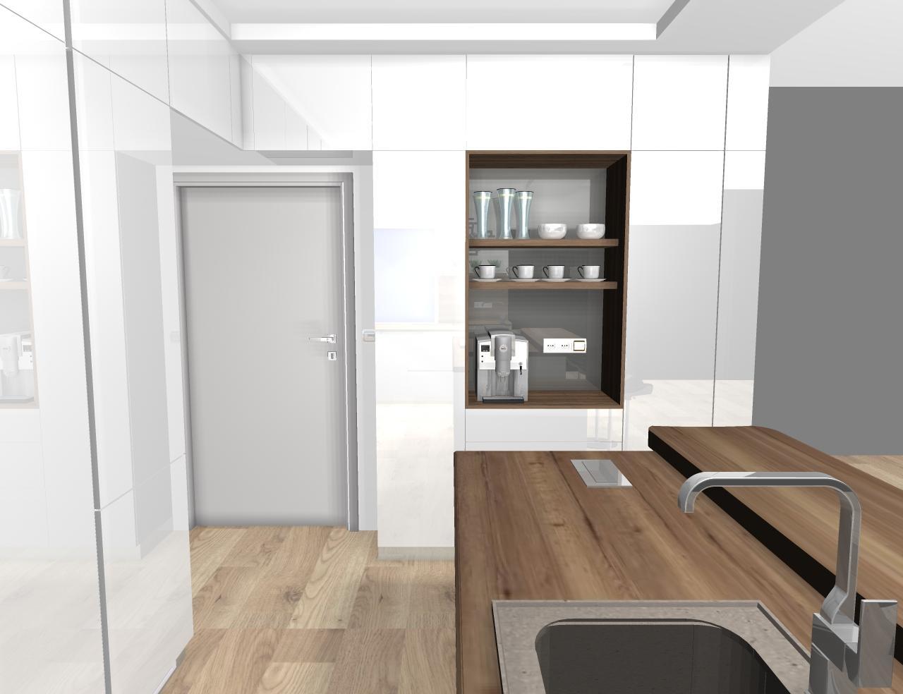 Grafické návrhy kuchynských liniek 2020 - návrh kuchynskej linky do rodinného domu -verzia 1 - obr.6