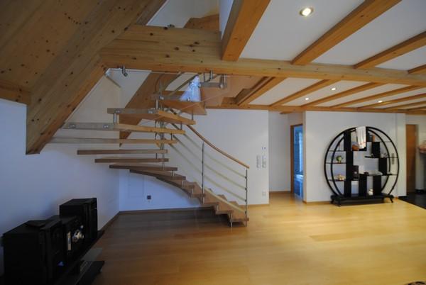 Schody - sklo a drevo - schody Siller 4