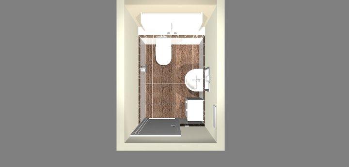 Grafické návrhy - kúpeľní - WC 1 - obr 1
