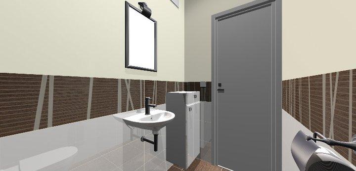 Grafické návrhy - kúpeľní - WC 1 - obr 2