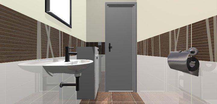 Grafické návrhy - kúpeľní - WC 1 - obr 3