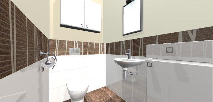 Grafické návrhy - kúpeľní - WC 1 - obr 4