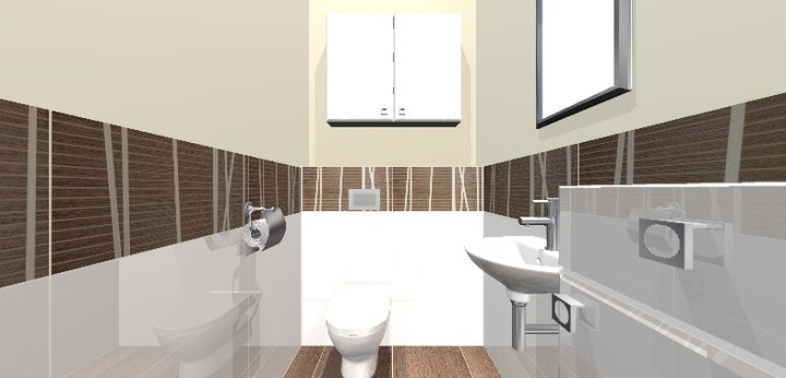 Grafické návrhy - kúpeľní - WC 1 - obr 5