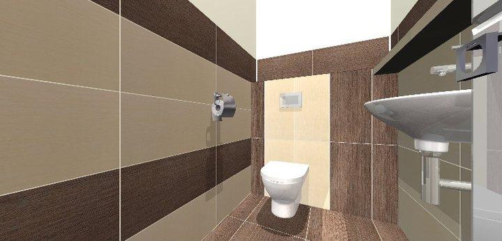 Grafické návrhy - kúpeľní - WC 2 - obr 3