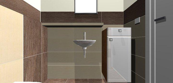 Grafické návrhy - kúpeľní - WC 2 - obr 4