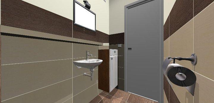 Grafické návrhy - kúpeľní - WC 2 - obr 5