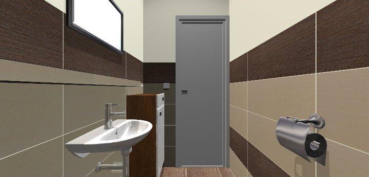 Grafické návrhy - kúpeľní - WC 2 - obr 6