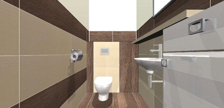 Grafické návrhy - kúpeľní - WC 2 - obr 2