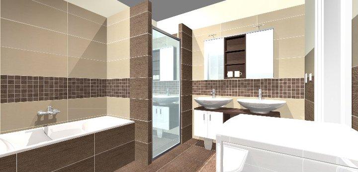 Grafické návrhy - kúpeľní - kúpeľňa 3-obr 1