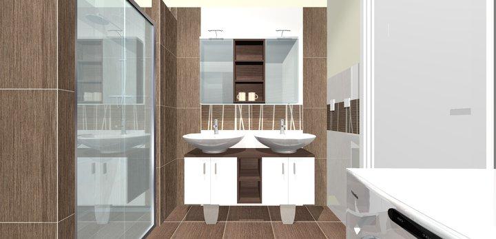 Grafické návrhy - kúpeľní - kúpeľňa 4-obr 1