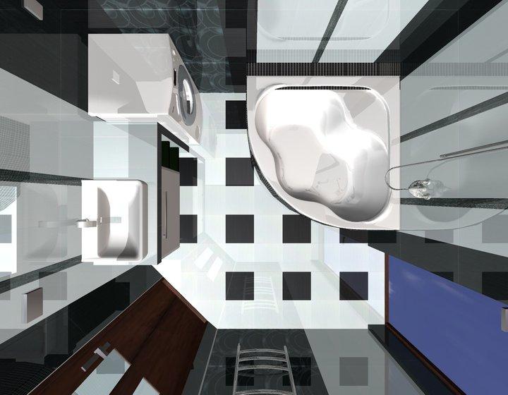 Grafické návrhy - kúpeľní - kúpeľňa 5-obr 2