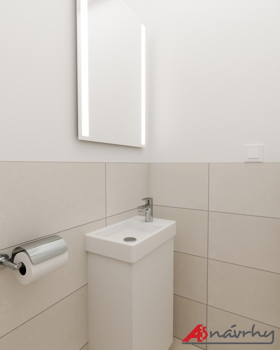 Grafické návrhy bytov a domov - Grafický návrh zariadenia trojizbového bytu v BA - obr.18