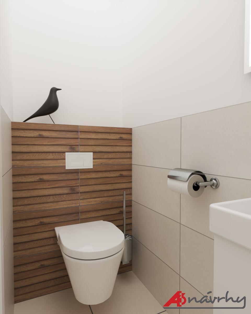 Grafické návrhy bytov a domov - Grafický návrh zariadenia trojizbového bytu v BA - obr.17