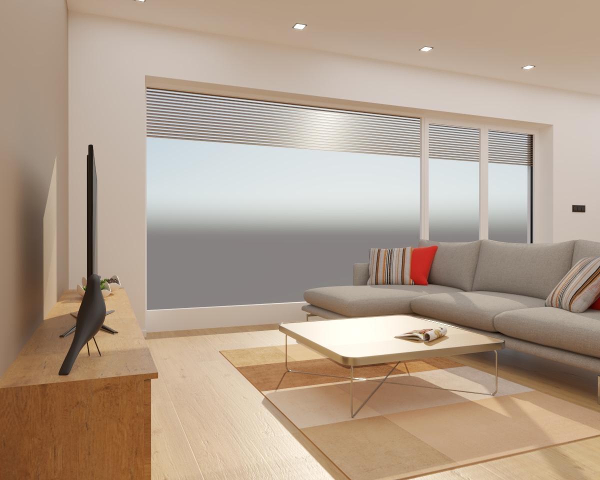 Grafické návrhy kuchynských liniek 2020 - Grafický návrh kuchyne spojenej s obývačkou do rodinného domu v BA - obr.8