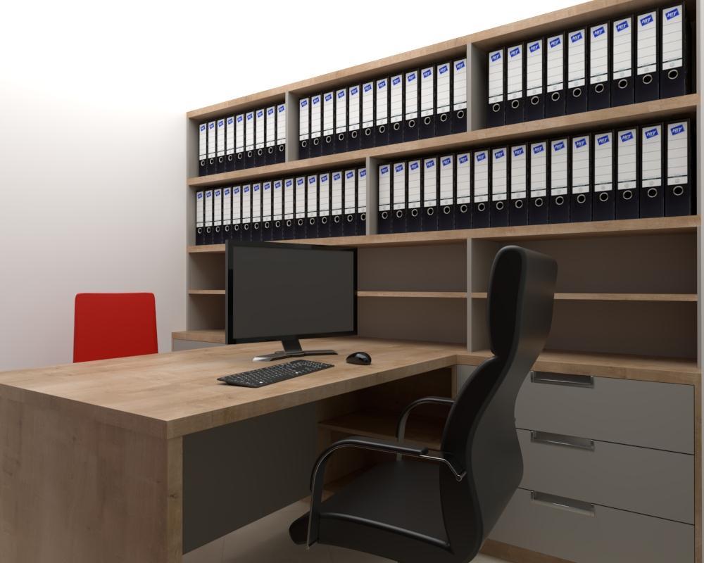 Grafické návrhy interiér 2021 - Grafický návrh kancelárie Slovaktual v BB - obr.8