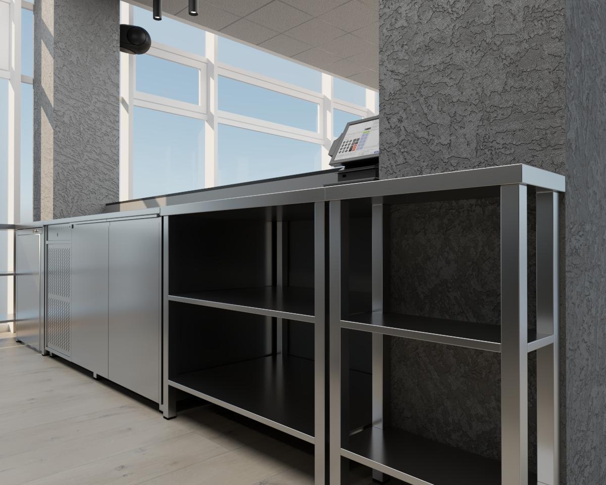 Grafické návrhy interiér 2021 - Grafický návrh kaviarne Bisaudio v BB - obr.6