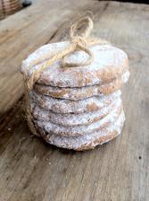 Mini dárečky pro přátelé - vanilkové sušenky