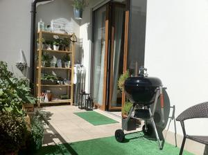 Konečně zabydlená terasa pro první teplé dny