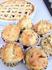 Moje pokusy v kuchyni - slané cibulové muffiny s rozmarýnem