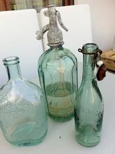 moje vášeň - staré láhve...