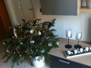 ...a první vspolečný vánoční stromek :-).