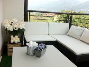 Nové sezení na balkoně by Ikea