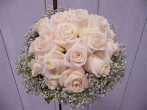 Nápad na svatební kytici