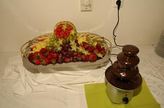 čokoládová fontána :-)