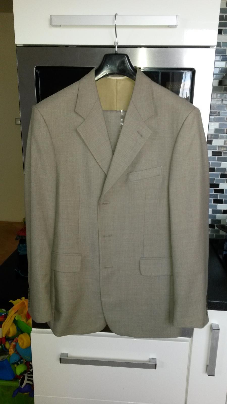 Pánský oblek - nepoužitý - Obrázek č. 1