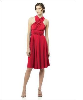 Let's rock'n'roll! - nakonec tedy  cervene wrap dress, to bude snad sluset vsem
