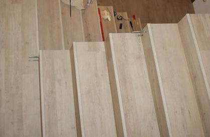 Pro @kaaccka - Vinylové schody - Nalepovací lišty - pohled shora
