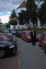 Kolona aut u Zámečku
