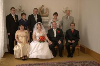 Fotografování - rodiny a svědci